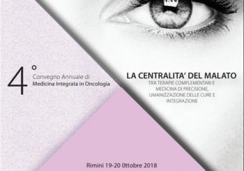 19-20 ottobre 2018 – 4° CONVEGNO DI MEDICINA INTEGRATA IN ONCOLOGIA