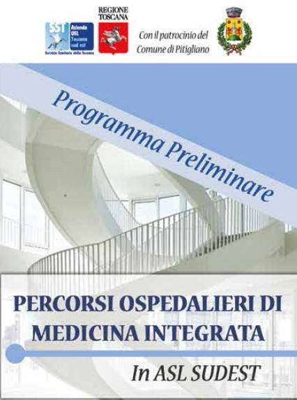 Percorsi ospedalieri di medicina integrata – 4/5 ottobre 2019