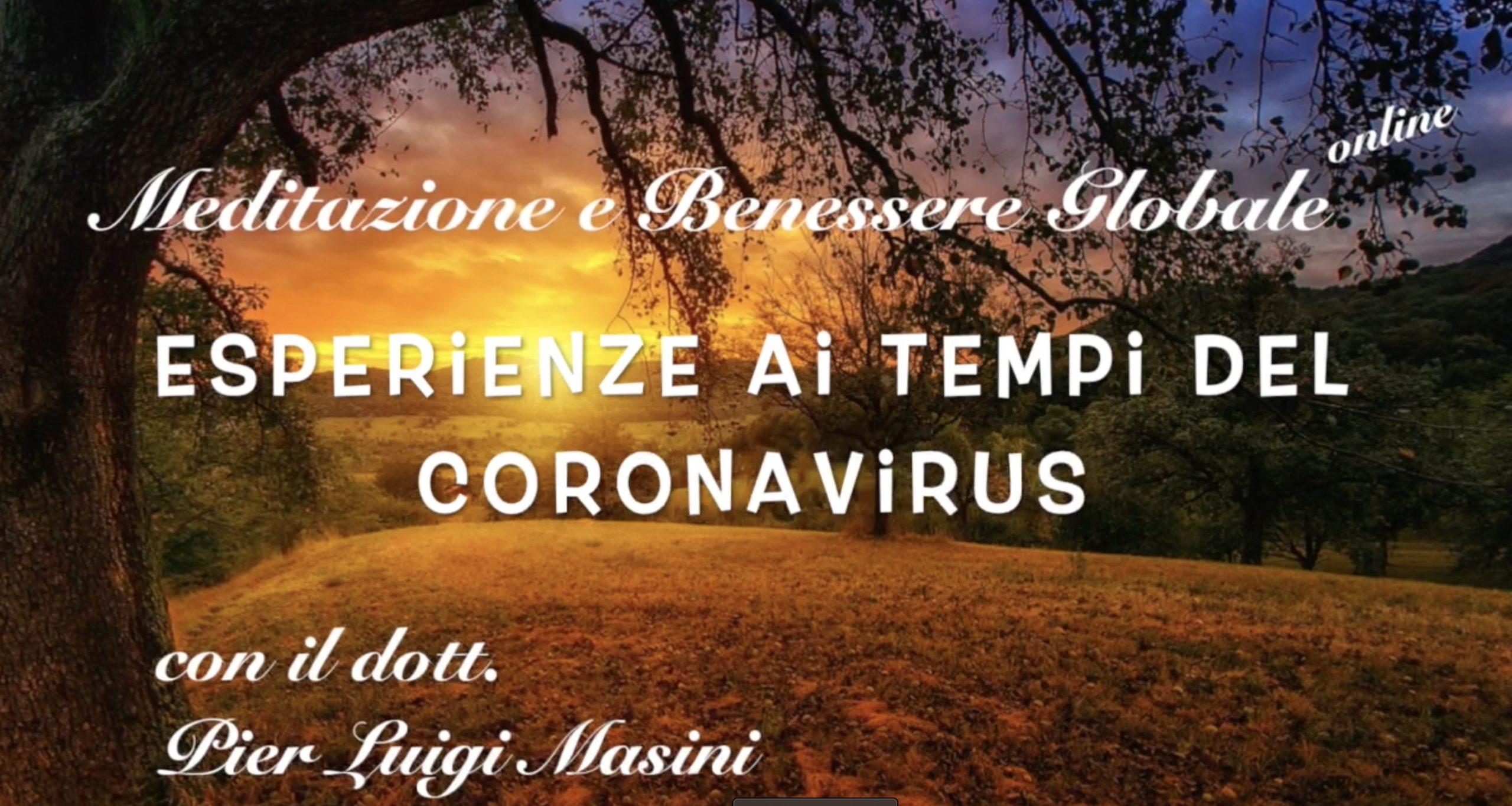 Esperienze al tempo del Coronavirus: si può anche ringraziare…