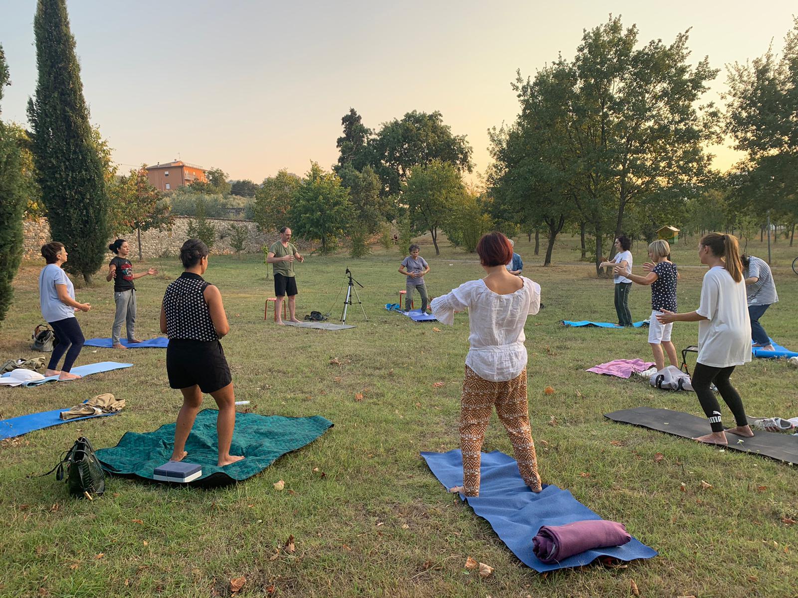 Meditazione e Benessere Globale al parco